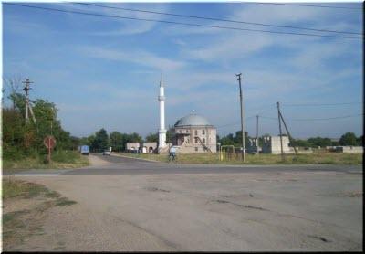 мечеть в пгт Советский