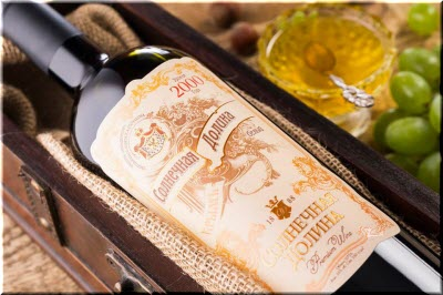 вино Солнечная долина