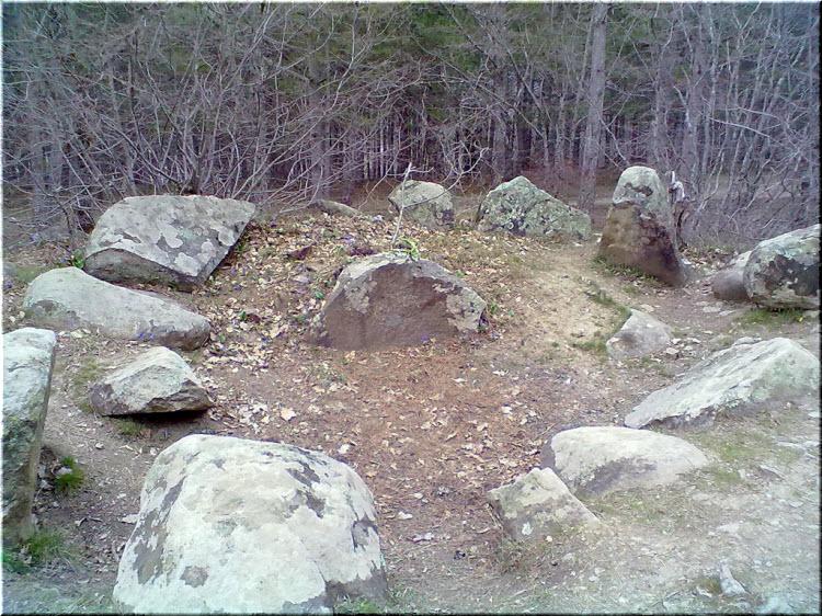 Алуштинский кромлех на фото
