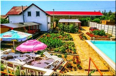 частный сектор в селе Миндальное