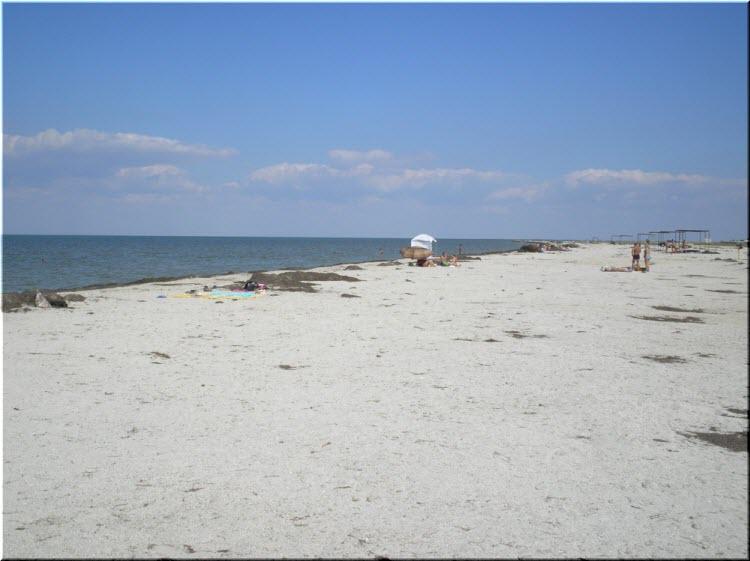 фото пляжа в Портовом