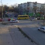 Дорожная веб-камера у улицы Токарева в Евпатории
