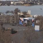 Панорамная онлайн камера на пл. Нахимова в Севастополе