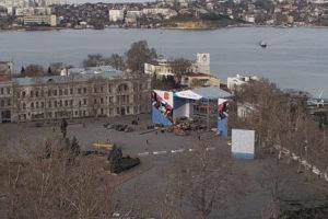 фото с панорамной камеры площади Нахимова