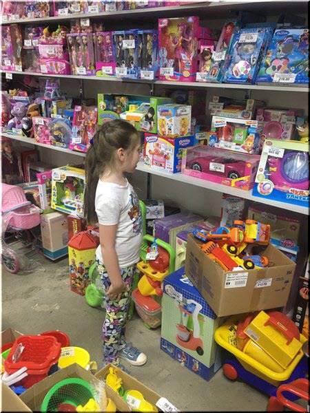 игрушки на Кубанском рынке