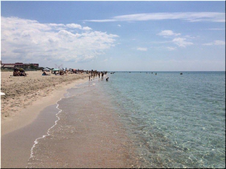 пляжи Золотого Крыма