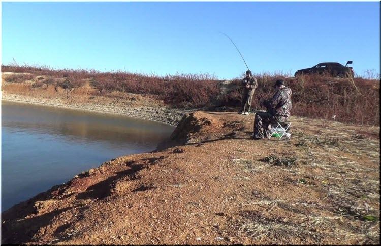 рыбалка на Межгорном