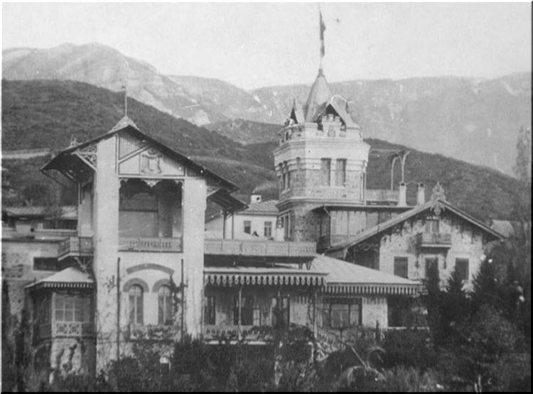 старое фото башни Врангеля