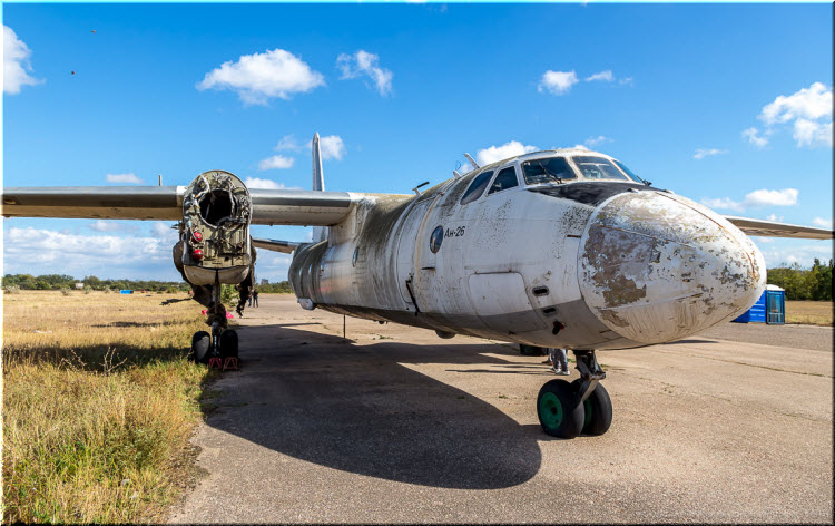 старые самолеты в Войково