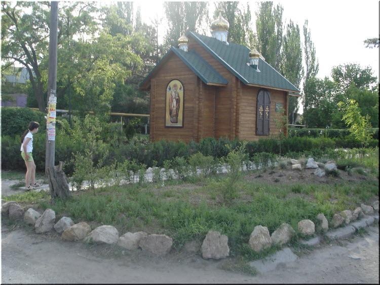 часовня в Кировском