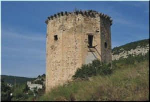 Чоргуньская башня в Черноречье