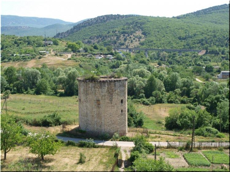 фото башни с высоты