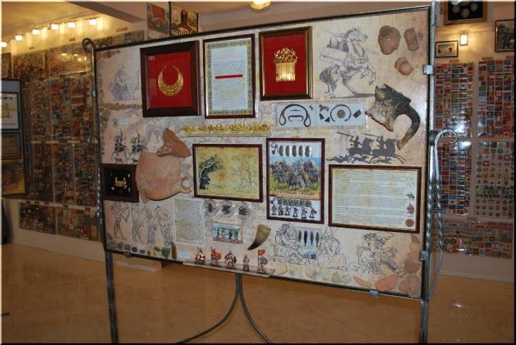 фото в музее магнитиков