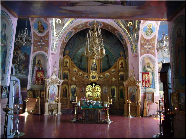фото внутри Храма пророка Ильи