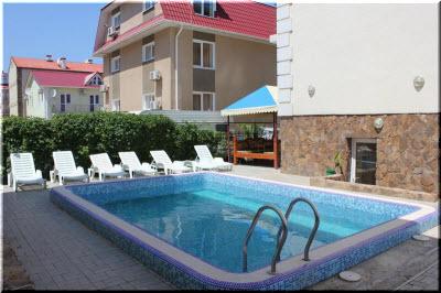 отели в Николаевке с бассейнами