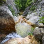 Каньон реки Бага и Трехкаскадный водопад в Крыму