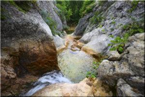 в каньоне реки Бага
