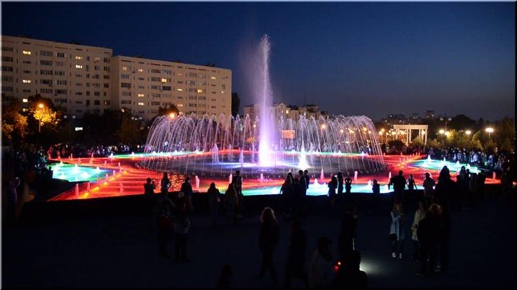 фото фонтана Орден Победы в Севастополе