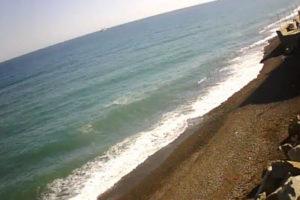фото с камеры на пляже в Рыбачьем