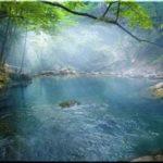 Голубое озеро — озеро Любви в Большом каньоне