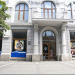Кинотеатр имени Шевченко в городе Симферополь