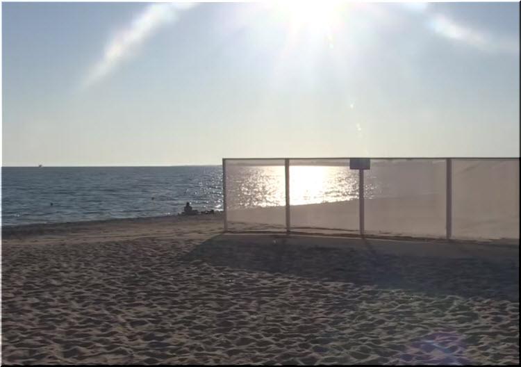 Нудистский пляж Евпатории