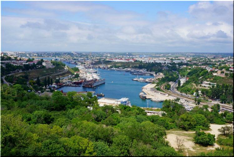 панорама Южной бухты