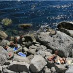 Голубые камни — самый необычный пляж нудистов в Крыму