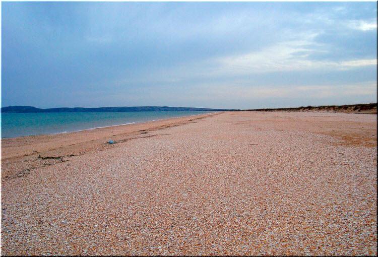 пляжи залива Казантип