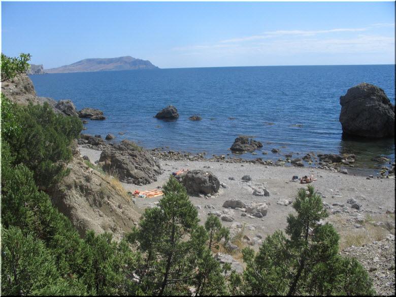 дикий Черепаший пляж