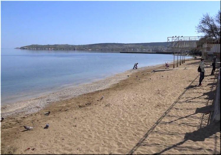 фото пляжа Динамо