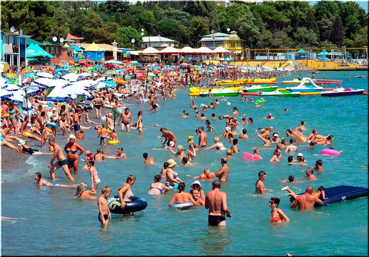 фото пляжа Ласковый берег