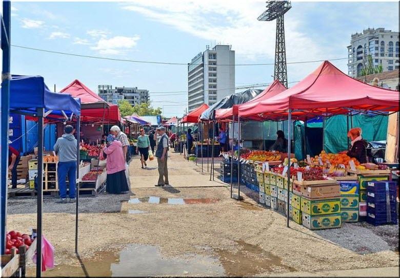 фото рынка Чайка в Севастополе