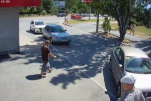 фото с веб-камеры на Крымской улице в Феодосии