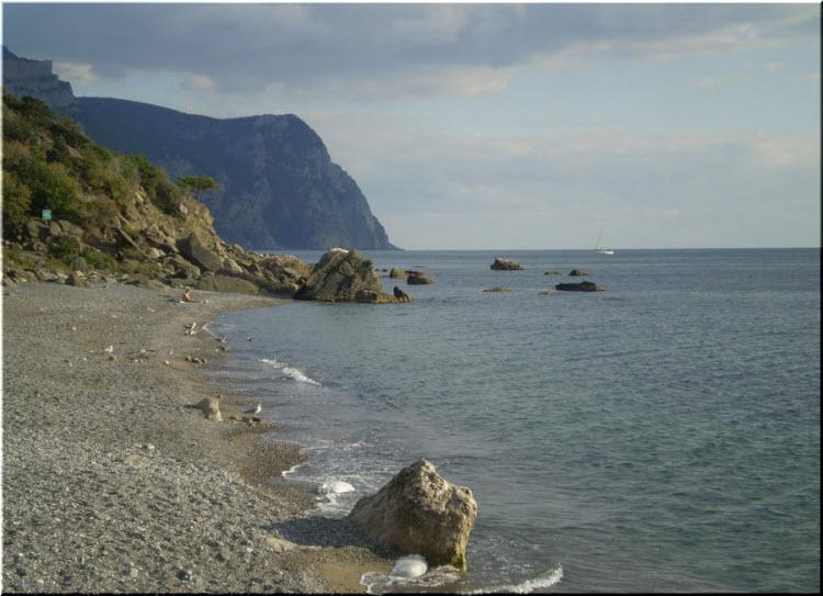 фото Серебряного пляжа
