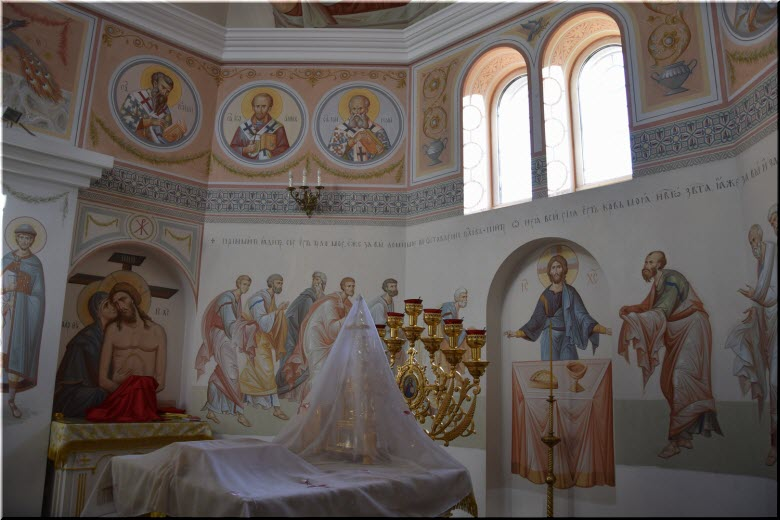фото внутри Вознесенского храма