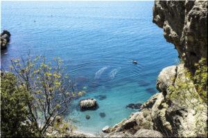дикие пляжи Судака
