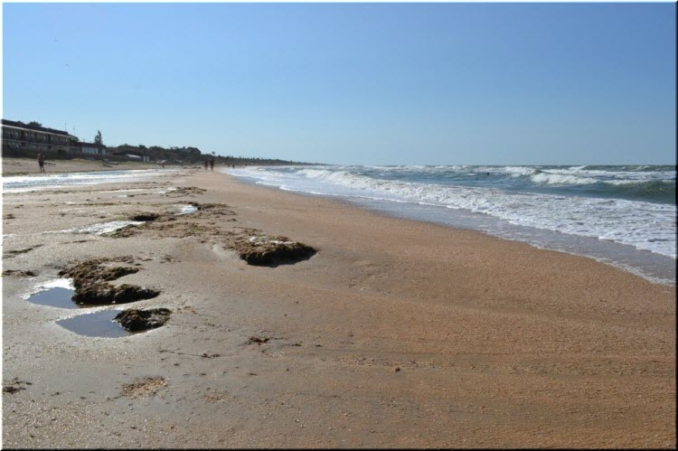 пляжи Арабатского залива