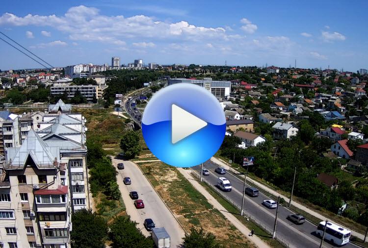 веб-камера на пр. Гагарина в Севастополе