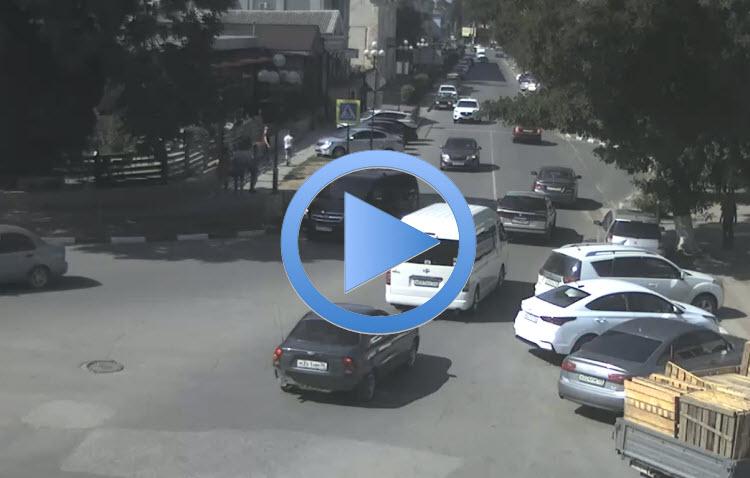 дорожная веб-камера на улице Самойленко