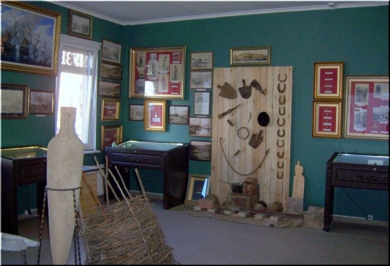 экспозиции балаклавского Музея истории