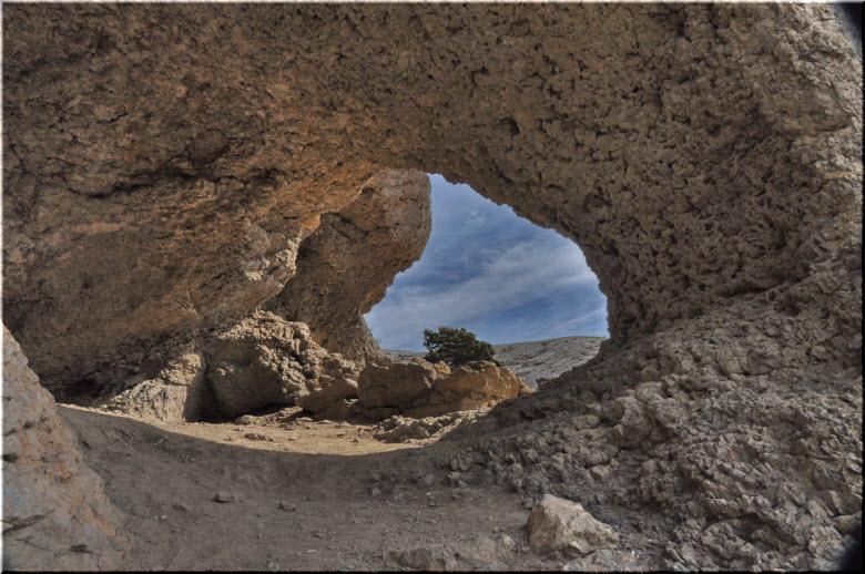 фото Эоловой арфы под Судаком