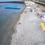Онлайн веб-камера на пляже санатория Golden в Алуште