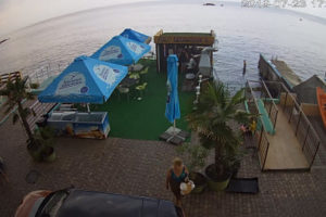 фото с камеры отеля Вилла Виктория