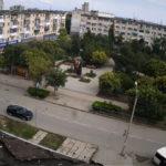 Онлайн веб-камера у сквера Афганцев в Евпатории