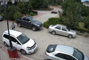 фото с камеры у сквера Славы в Керчи
