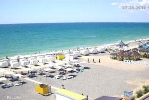 фото с пляжа Палуба в Новофедоровке
