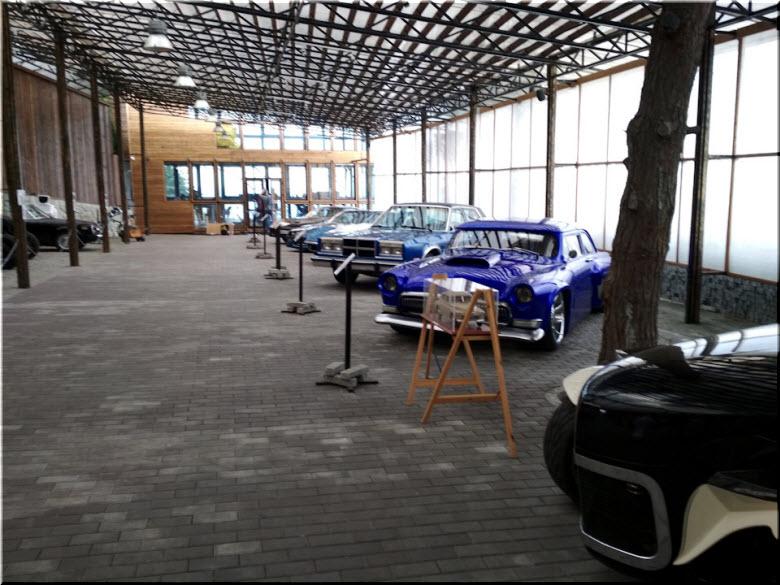 фото в Музее автоискусства