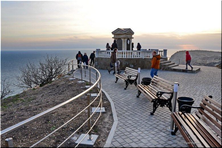 Новый парк на Фиоленте