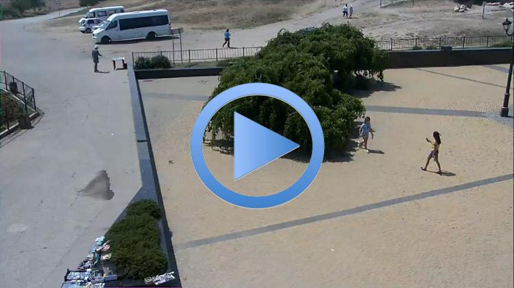 панорамная веб-камера Керчи
